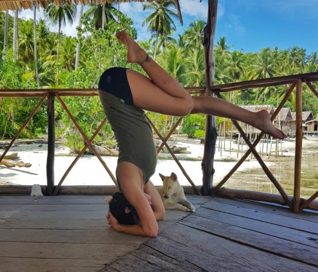 Inverzije, Ashtanga Yoga Studio Split